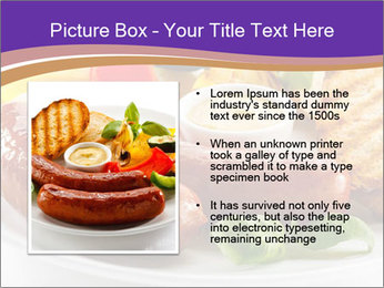 Roasted Sausages PowerPoint Template - Slide 13