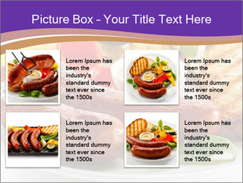 Roasted Sausages PowerPoint Template - Slide 14