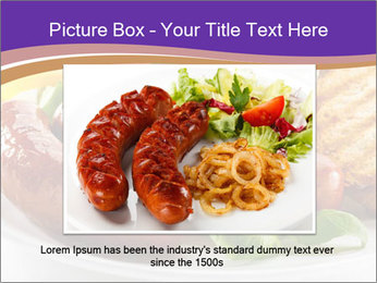 Roasted Sausages PowerPoint Template - Slide 16