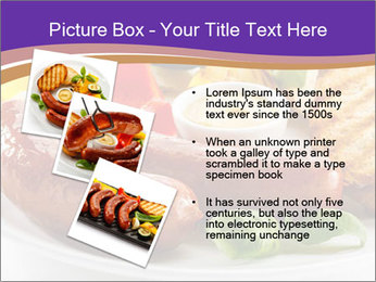 Roasted Sausages PowerPoint Template - Slide 17