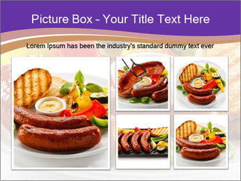 Roasted Sausages PowerPoint Template - Slide 19