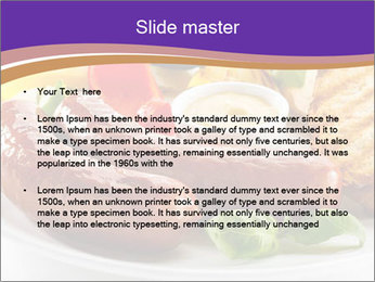 Roasted Sausages PowerPoint Template - Slide 2