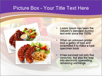 Roasted Sausages PowerPoint Template - Slide 20