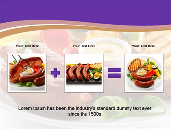 Roasted Sausages PowerPoint Template - Slide 22