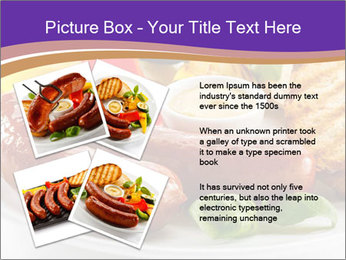 Roasted Sausages PowerPoint Template - Slide 23
