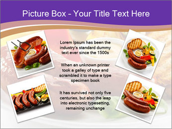 Roasted Sausages PowerPoint Template - Slide 24