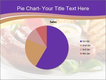 Roasted Sausages PowerPoint Template - Slide 36