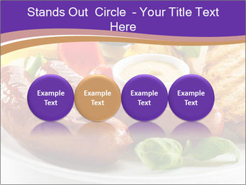 Roasted Sausages PowerPoint Template - Slide 76