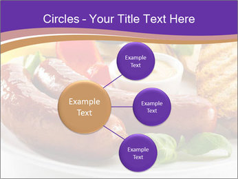 Roasted Sausages PowerPoint Template - Slide 79