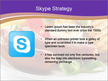 Roasted Sausages PowerPoint Template - Slide 8