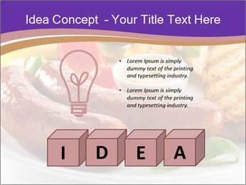 Roasted Sausages PowerPoint Template - Slide 80