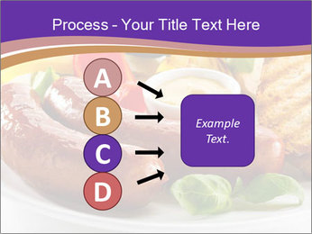 Roasted Sausages PowerPoint Template - Slide 94