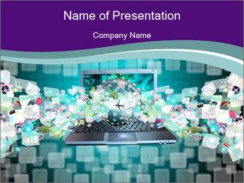 Virtual World Modèles des présentations  PowerPoint
