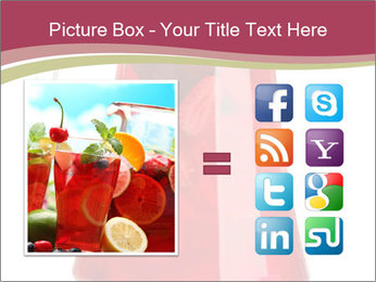 Red Punch PowerPoint Template - Slide 21