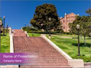 Long Steps Walk PowerPoint Template