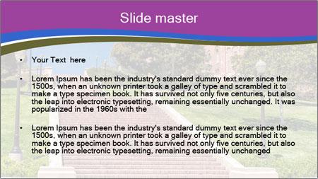 Long Steps Walk PowerPoint Template - Slide 2