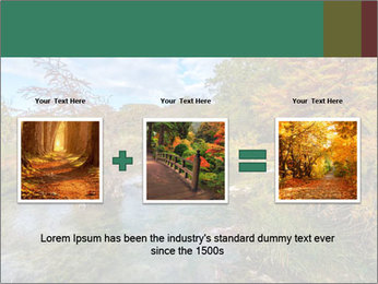 Babbling Brook PowerPoint Template - Slide 22