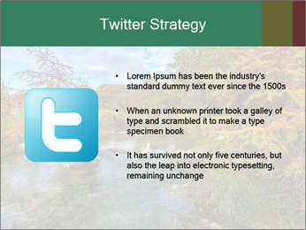 Babbling Brook PowerPoint Template - Slide 9