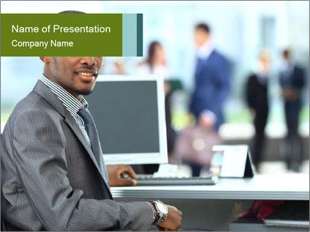 IT Specialist PowerPoint Template