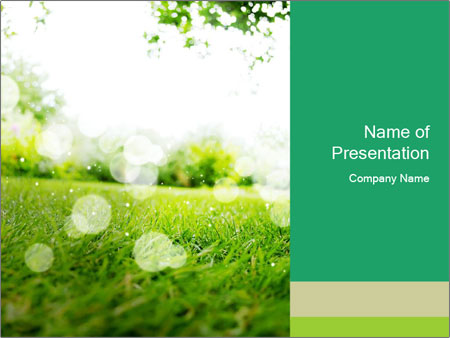 Spring Mood PowerPoint Template