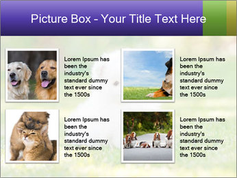 White Little Puppy PowerPoint Template - Slide 14