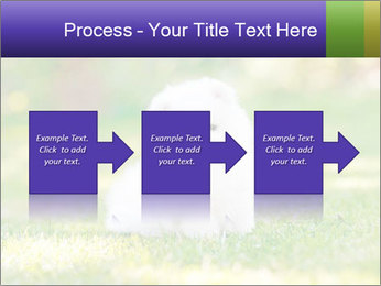 White Little Puppy PowerPoint Template - Slide 88