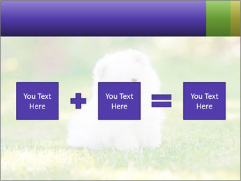 White Little Puppy PowerPoint Template - Slide 95