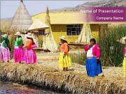 Inca Village PowerPoint Template