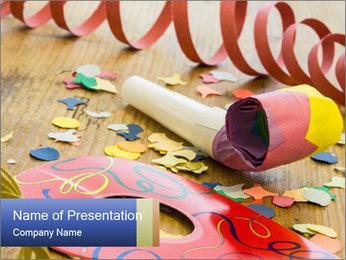 Birthday Celebration For Kids PowerPoint Template - Slide 1