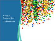 Confetti Party PowerPoint Template