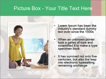 Meeting a group of people PowerPoint Template - Slide 13