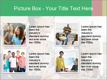 Meeting a group of people PowerPoint Template - Slide 14
