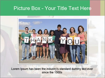 Meeting a group of people PowerPoint Template - Slide 16