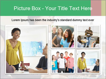 Meeting a group of people PowerPoint Template - Slide 19