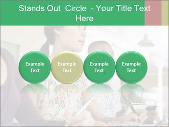 Meeting a group of people PowerPoint Template - Slide 76