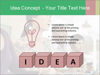 Meeting a group of people PowerPoint Template - Slide 80