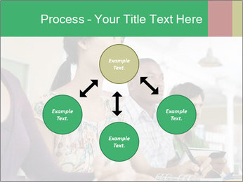 Meeting a group of people PowerPoint Template - Slide 91