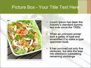 Vegan Salad PowerPoint Template - Slide 13