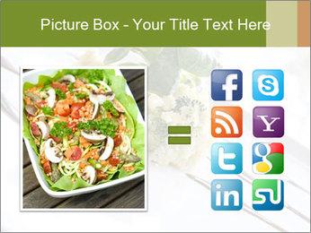 Vegan Salad PowerPoint Template - Slide 21