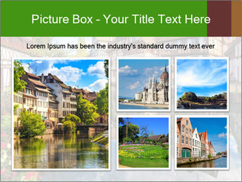 Strasbourg City PowerPoint Template - Slide 19
