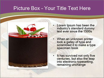 Cakes and coffee PowerPoint Template - Slide 13