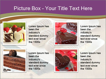 Cakes and coffee PowerPoint Template - Slide 14