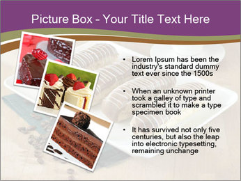 Cakes and coffee PowerPoint Template - Slide 17