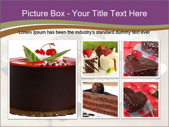 Cakes and coffee PowerPoint Template - Slide 19