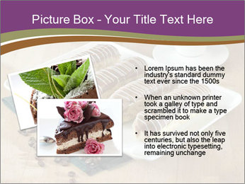 Cakes and coffee PowerPoint Template - Slide 20