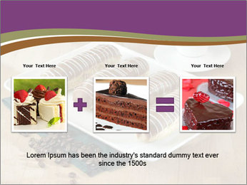 Cakes and coffee PowerPoint Template - Slide 22