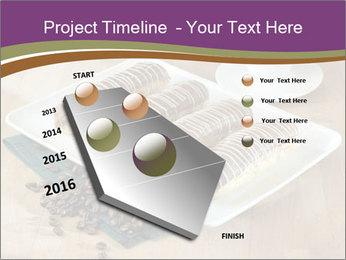 Cakes and coffee PowerPoint Template - Slide 26