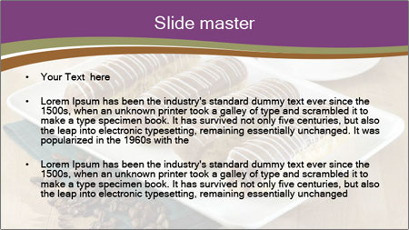 Cakes and coffee PowerPoint Template - Slide 2
