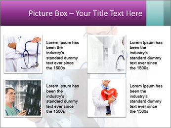 Doctor Examines X-Ray PowerPoint Template - Slide 14