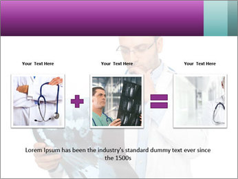 Doctor Examines X-Ray PowerPoint Template - Slide 22
